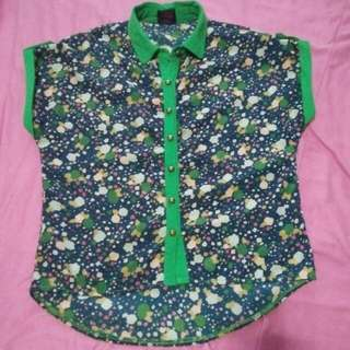 CLEARANCE SALE! Printed Blouse