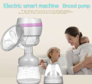 One-piece electric breast pump Smart breast pump wireless milk suction suction Health tips