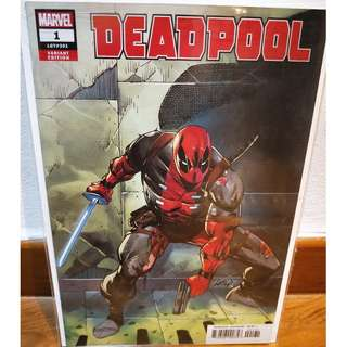 Deadpool #1 (2018) Rob Liefeld 1:25 Variant NM