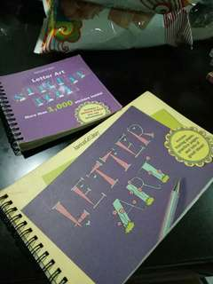 Lettering Book & Stickers