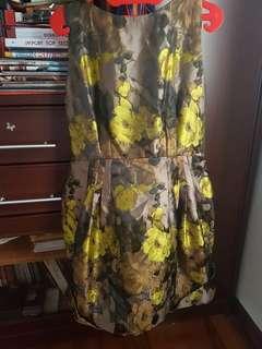 Flowery Classic Dress