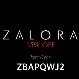 [FREE] ZALORA Promo Code 15% OFF