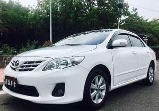 2012 Toyota Altis 1.8E ⚪️白