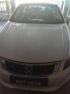 Honda accord 2008 2.0 liter