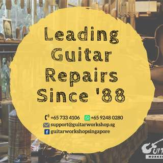 Guitar Workshop - Repair Services/Refinishing/Customization/Retail/ Buy /Sell/Trade/Consign
