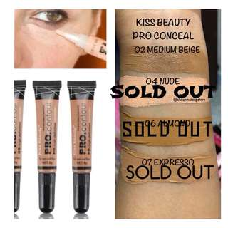 KISS BEAUTY PRO CONCEAL