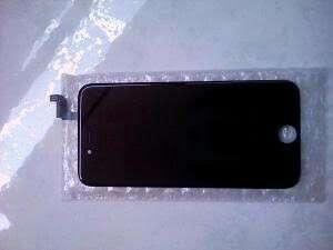 LCD iphone 6 black asli copotan mulus