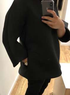 COS Oversized neoprene top w/ Pockets