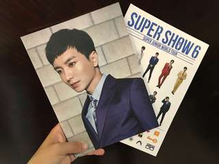 [SUPER JUNIOR] 利特筆記簿及SJ貼紙