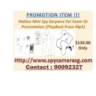Spy Exam Uses Or Presentation Gadget