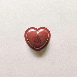 3CE Heart Pot Lip in Brick Red