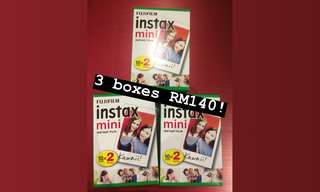 Instax Mini Films Twinpack 20pcs