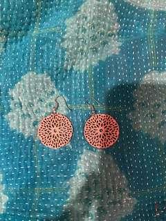 Vintage Pink Earrings