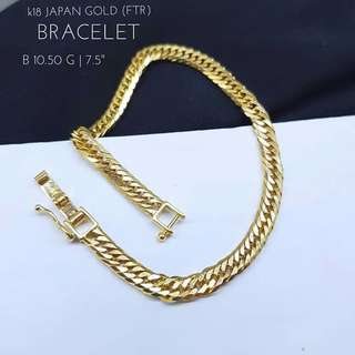 K18 Japan Gold Bracelet