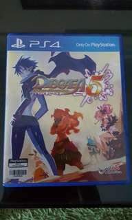 Disgaea 5 *NEW* PS4