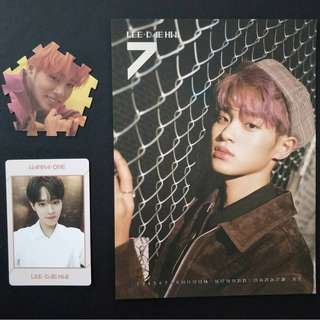 Wanna One Lee Dae Hwi Stock Clearance