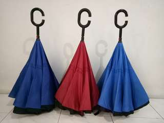 Inverted Umbrella or Car Umbrella