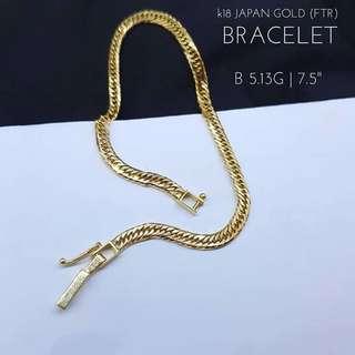 K18 Japan Gold Bracet