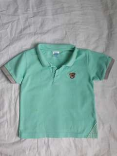 Polo shirt for baby