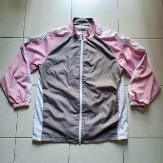Fila Pastel Pink Windbreaker Jacket
