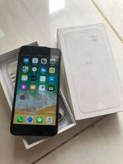 iPhone 6 Plus 16GB Space Grey 4GLTE Fullset murah Original Apple