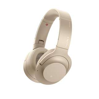 Sony Headphones WH H900N in Champagne