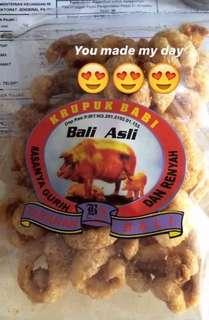 Krupuk Babi Bali Asli (Samcam) 128gram