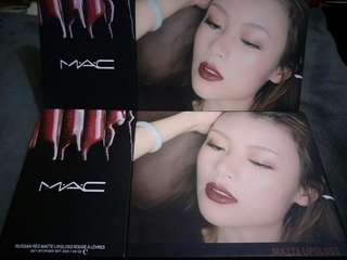 MAC matte liquid lipstick