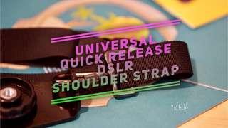 Quick Release Shoulder Strap Neck Sling for Mirrorless DSLR Cameras XE-3 a6000 a7iii a6300 a6500 a7S xa-2 xa-3 Nikon Canon Sony