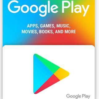 Google Play Gift Voucher - USD 10
