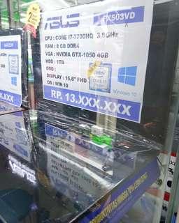 Kredit Laptop Asus FX503VD