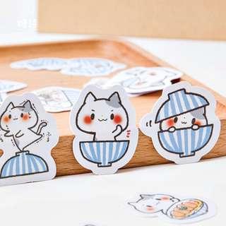 😺BN INSTOCKS Adorable Cheeky Neko Cat Stickers