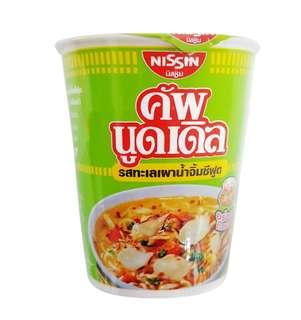 泰國版 日清 烤香辣海鮮味杯麵