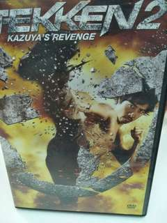 Tekken 2 movie DVD