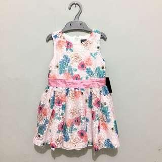 Dress anak perempuan brokat flowers