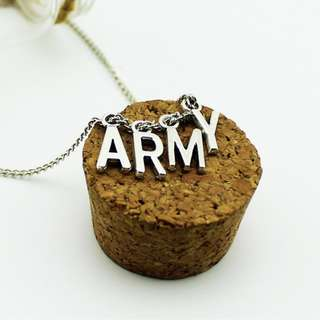 BTS Bangtan Boys ARMY Necklace