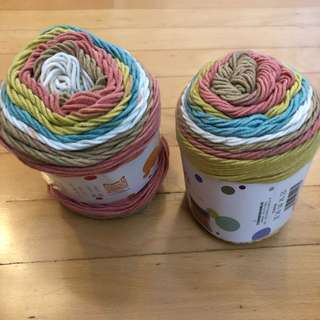 Ruyi Rainbow Cotton Yarn
