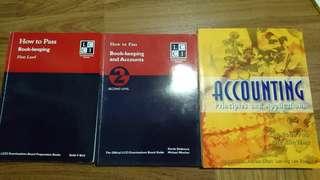 LCCI Accounting books Level 1 & 2