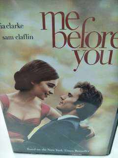 Me before you movie DVD