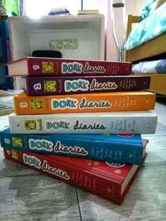 The Dork Diaries Collection #1-6 by Rachel Renee Russell