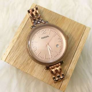 Fossil Heather/Jengkol Rose Gold 42 mm