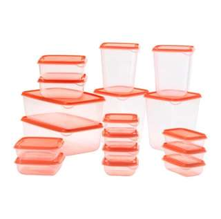 Pruta IKEA Tupperware ( 17 pcs )