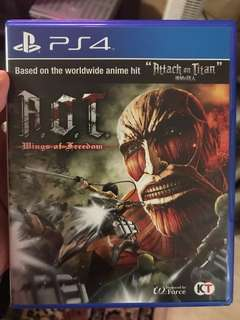 PS4 Attack On Titan Wings of Freedom