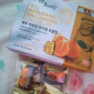 Jeju Harubang Chocolate (Free Testing)