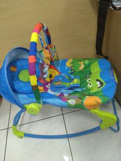 Baby bouncer sugar baby 10 in 1 (preloved)