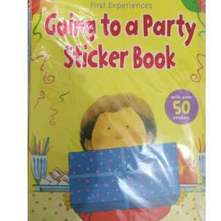 5 mixed children sticker and fun book only RM15