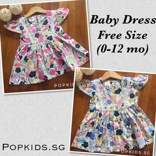 🚚 🔥SALE - 0-18 Mo Floral Baby Dress 🔥