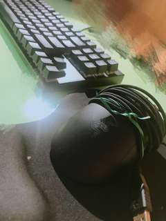 Razer DeathAbber Mouse + Gaming Keybord