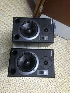 New net roland ds 5 studio monitors