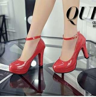 Sepatu Heels Pump Pesta 10.5CM-SHH666
